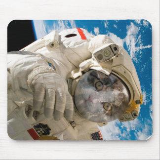 Catstronaut, Astronaut, Mouse Mat Mouse Pad