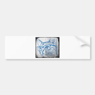 Catswearingglasses Bumper Sticker