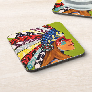 Cattail Kali Coaster