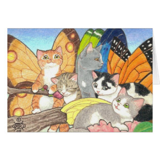 Catterfly Gathering Card