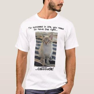 Cattitude 2 T-Shirt