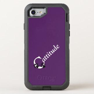 Cattitude OtterBox Defender iPhone 8/7 Case