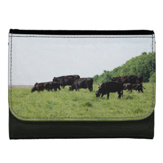 Cattle Black Angus Wallet