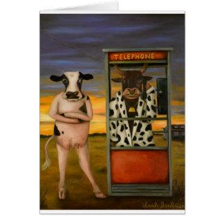 Cattle Call Card