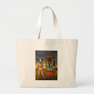 Cattle Call Large Tote Bag