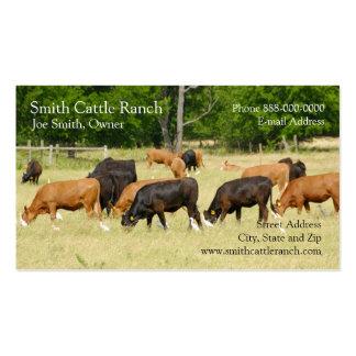 Cattle Dairy Farmer Business Card