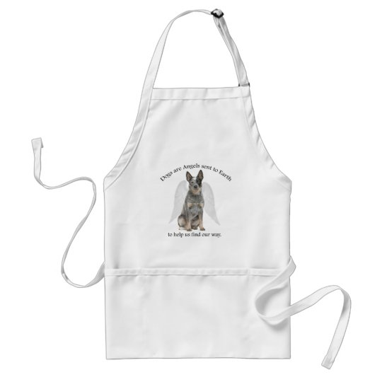 Cattle Dog Angel Apron