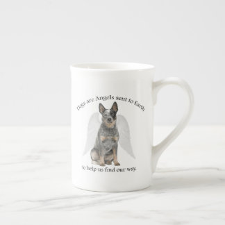 Cattle Dog Angel Bone China Mug