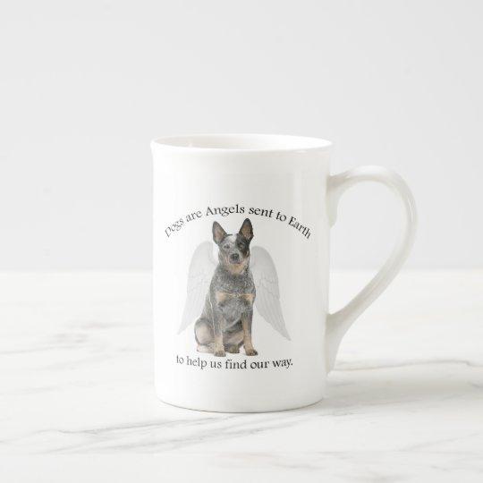 Cattle Dog Angel Bone China Mug