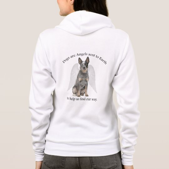 Cattle Dog Angel Hoodie