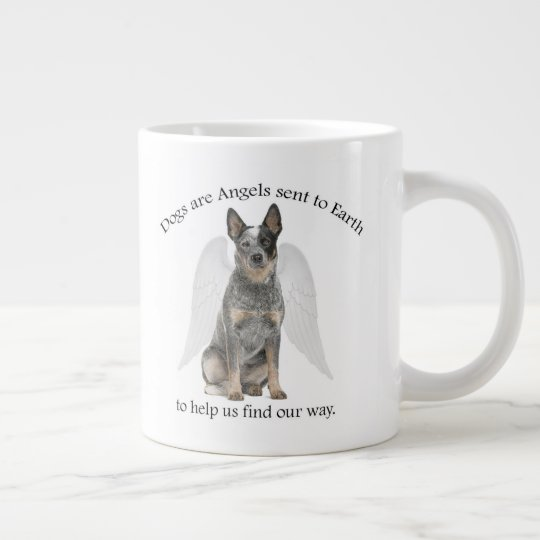 Cattle Dog Angel Jumbo Mug