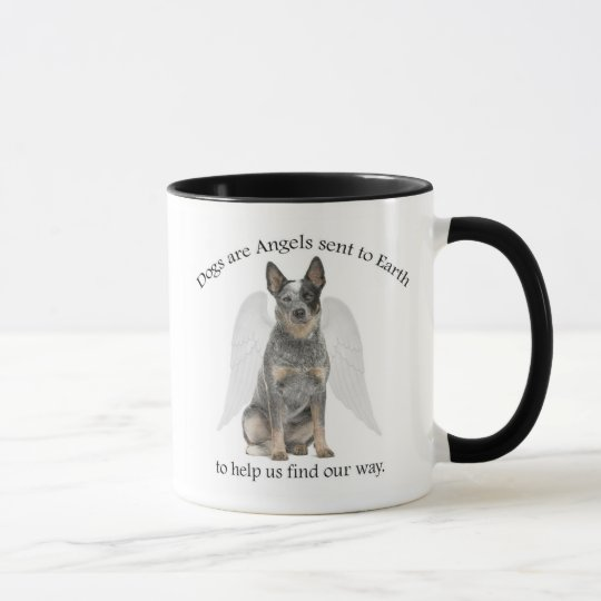 Cattle Dog Angel Mug