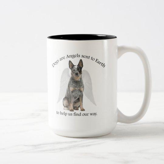 Cattle Dog Angel Mug