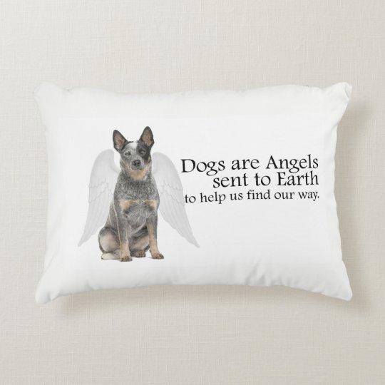 Cattle Dog Angel Pillow