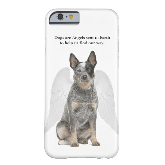 Cattle Dog Angel Smartphone Case