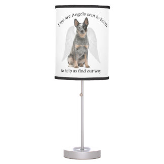 Cattle Dog Angel Table Lamp