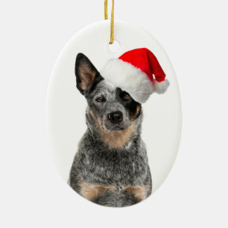 Cattle Dog Christmas Ornament