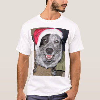Cattle Dog Christmas T-Shirt