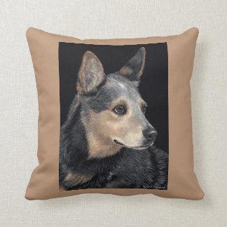 "Cattle Dog Pillow - ""Quigley"""