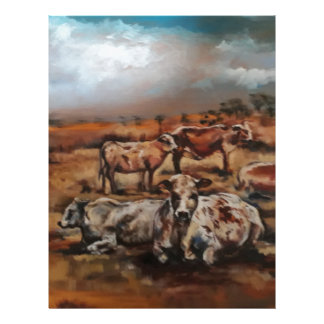 Cattle Letterhead