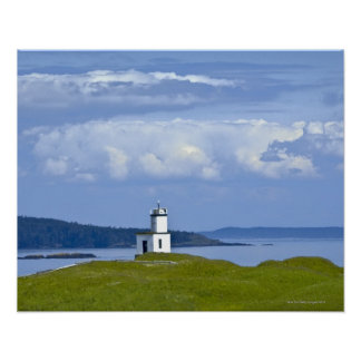 Cattle Point Lighthouse on San Juan Island, WA Poster