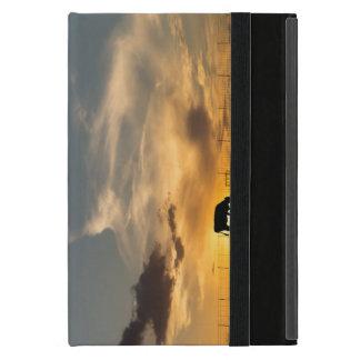 Cattle Sunset Silhouette iPad Mini Cases