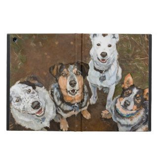 Cattledogs Cattle Dogs and Heelers Fine Art iPad Air Cover