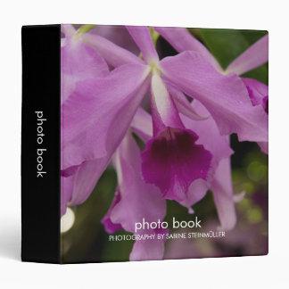 Cattleya Orchid Photo Book Binder