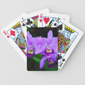 Cattleya Orchid Playing Cards