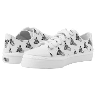 Cattoon (Cat Cartoon) Low Tops Shoes