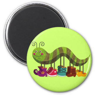 Catty Caterpillar Magnet