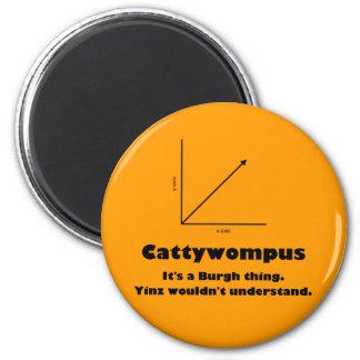 Cattywompus Magnet