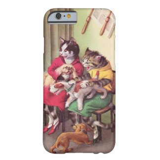 CATWALKS: Bulldog at Barbers-Barely iPhone 6 Case Barely There iPhone 6 Case