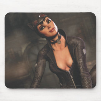Catwoman 1 mouse pad