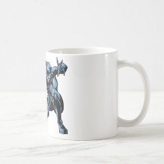 Catwoman crouches classic white coffee mug