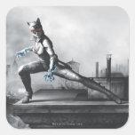 Catwoman - Lightning Square Sticker