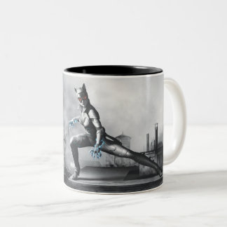 Catwoman - Lightning Two-Tone Coffee Mug