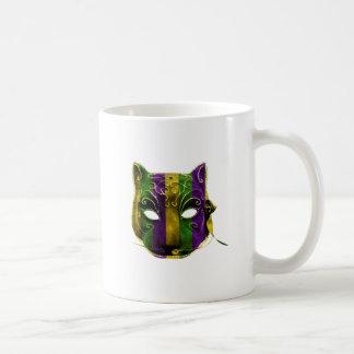 Catwoman Mardi Gras Mask Coffee Mug