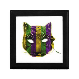 Catwoman Mardi Gras Mask Gift Box