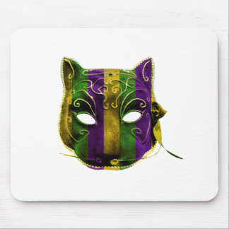 Catwoman Mardi Gras Mask Mouse Pad