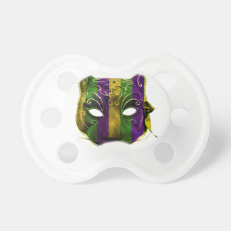 Catwoman Mardi Gras Mask Pacifier