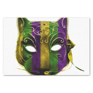 Catwoman Mardi Gras Mask Tissue Paper