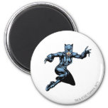 Catwoman with Claws 2 Inch Round Magnet