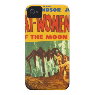 Catwomen on the Moon Case-Mate iPhone 4 Case