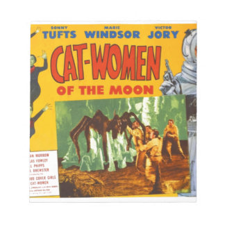 Catwomen on the Moon Notepad