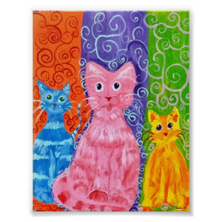 Catz of Color Poster