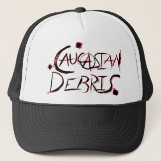 Caucasian Debris Trucker Hat