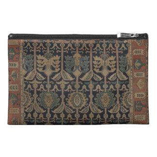 Caucasus Carpet Organizer Pouch Travel Accessory Bag