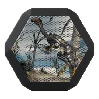 Caudipteryx dinosaur - 3D render Black Bluetooth Speaker
