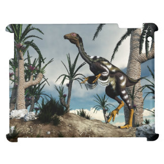 Caudipteryx dinosaur - 3D render Case For The iPad